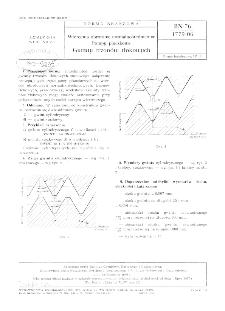 Wiercenia obrotowe normalnośrednicowe - Pompy płuczkowe - Gwinty trzonów tłokowych BN-76/1779-06
