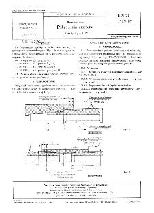 Wiertnictwo - Połączenia rurowe - Gwinty Rpr (LP) BN-78/1779-07