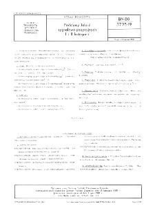 Podstawy latarń sygnałowo-pozycyjnych I i II kategorii BN-80/3725-19
