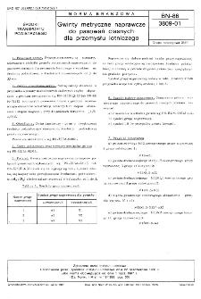 Gwinty metryczne naprawcze do pasowań ciasnych dla przemysłu lotniczego BN-86/3809-01