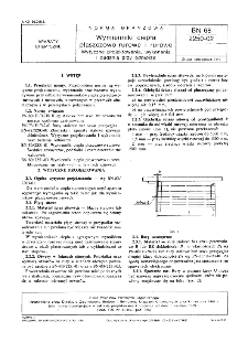 Wymienniki ciepła płaszczowo-rurowe i rurowe - Wytyczne projektowania, wykonania i badania przy odbiorze BN-68/2250-02