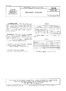Dozowniki śluzowe BN-89/2357-04