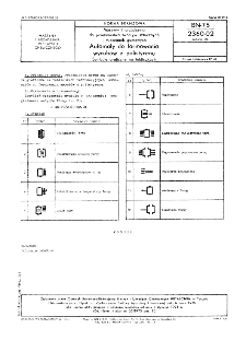 Maszyny i urządzenia do przetwórstwa tworzyw sztucznych i mieszanek gumowych - Automaty do formowania wyrobów z polistyrenu - Symbole graficzne na tabliczkach BN-75/2360-02 Arkusz 04