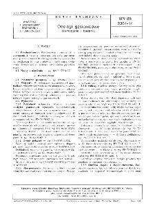 Odciągi gąsienicowe - Wymagania i badania BN-86/2364-14