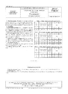 Urządzenia do cięcia tworzyw sztucznych - Przecinarki - Główne wymiary BN-87/2390-04