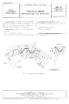 Połączenia zębate ewolwentowe dla lotnictwa BN-90/3813-92