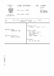 Sposób realizacji przyspieszonych badań zmęczeniowych materiałów stomatologicznych i symulator żucia : opis patentowy nr 208387