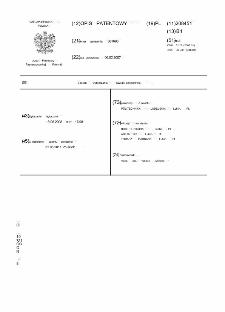 Sposób wytwarzania pawiaki polimerowej : opis patentowy nr 208451