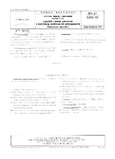 Górnicze napędy i sterowana hydrauliczne - Łączniki rurowe z końcówką stożkową do przyspawania - Podstawowe wymagania BN-87/5283-10