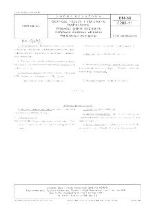 Górnicze napędy i sterowana hydrauliczne - Przewody giętkie rozbieralne - Końcówka stożkowa wkręcana - Podstawowe wymagania BN-88/5283-11