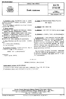 Kratki ściekowe BN-70/3732-08