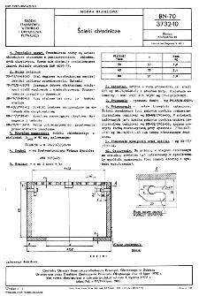 Ścieki chłodnicze BN-70/3732-10