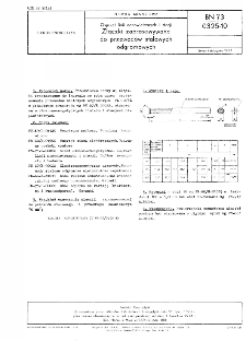 Osprzęt linii napowietrznych i stacji - Złączki zaprasowywane do przewodów stalowych odgromowych BN-73/0325-10