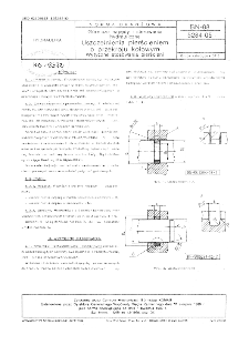 Górnicze napędy i sterowana hydrauliczne - Uszczelnienia pierścieniem o przekroju kołowym - Wytyczne stosowania pierścieni BN-88/5284-05