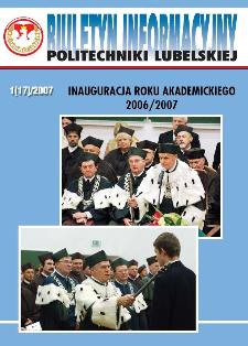 Biuletyn informacyjny Politechniki Lubelskiej 1(17)/2007 : inauguracja roku akademickiego 2006/2007
