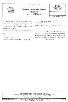 Skrzynie zaworowe żeliwne okrętowe pnom=< 10 kG/cm² BN-76/3732-06