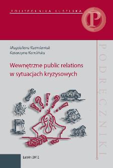 Wewnętrzne public relations w sytuacjach kryzysowych