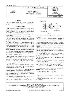 Nity lotnicze - Wymagania i badania BN-79/1120-01