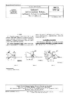 Ładowarki wielonaczyniowe kołowe, zwałowarki, ładowarko-zwałowarki - Parametry podstawowe BN-73/1717-04