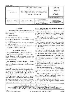 Introligatorstwo przemysłowe - Nazwy i określenia BN-73/7401-13
