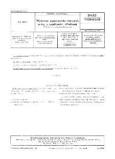 Wytyczne wyposażenia stanowisk pracy przygotowalni offsetowej - Pracownia duplikatów barwnych BN-83/7438-02.06