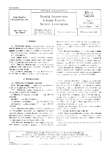 Zasady formowania kolumn książek, broszur i czasopism - BN-76/7440-03
