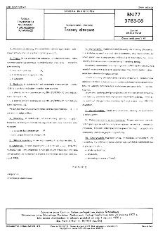 Urządzenia sterowe - Trzony sterowe BN-77/3783-08