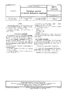 Stereotypy gumowe do techniki drukowania wypukłego BN-74/7443-02