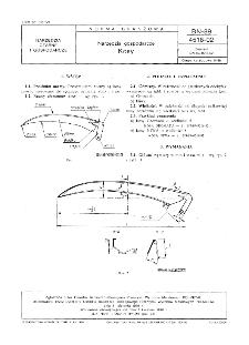 Narzędzia gospodarcze - Kosy BN-89/4518-02