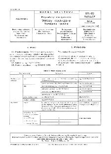 Półprodukty introligatorskie - Wkłady nieokrojone - Wymagania i badania BN-89/7451-07
