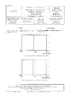 Półprodukty introligatorskie - okładki łączone jednorodne - wymagania i badania BN-81 7451-13.05