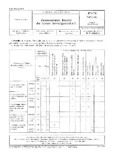 Zastosowanie klejów do opraw introligatorskich BN-76/7453-01