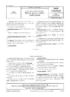Półprodukty do farb graficznych - Pokosty olejowe roślinne modyfikowane BN-81/7462-10.06
