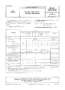 Półprodukty do farb graficznych - Pokosty alkoholowe BN-83/7462-10.09