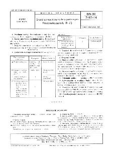 Środki pomocnicze do farb graficznych - Rozcieńczalnik R-73 BN-90/7462-14