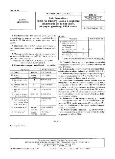 Farby typograficzne - Farba na maszyny rolowe o prędkości drukowania do 25000 obr/h, na papier gazetowy, BW-5 czarna BN-91/7463-02/15