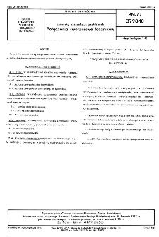 Łańcuchy czerpakowe pogłębiarek - Połączenia sworzniowe łączników BN-77/3798-10