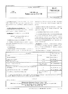 Farby offsetowe - Farba czarna STD XII BN-81/7463-03.20