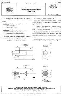 Łańcuchy czerpakowe pogłębiarek - Sworznie BN-77/3798-12