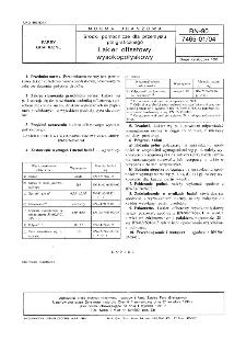 Środki pomocnicze dla przemysłu poligraficznego - Lakier offsetowy wysokopołyskowy BN-90/7465-01/04