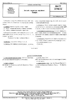 Łańcuchy czerpakowe pogłębiarek - Tulejki BN-77/3798-13