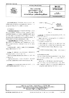 Urządzenia manewrowe pogłębiarek - Krążki linowe prowadzące stałe BN-77/3798-15
