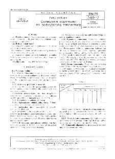 Farby graficzne - Oznaczanie odporności na podwyższoną temperaturę BN-79/7469-17