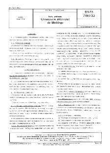 Farby graficzne - Oznaczanie skłonności do blockingu BN-76/7469-32