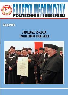 Biuletyn informacyjny Politechniki Lubelskiej 2(20)2008 : jubileusz 55-lecia Politechniki Lubelskiej