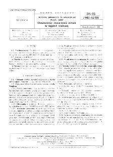 Roztwory galwaniczne do wklęsłodruku - Metody badań - Oznaczanie zawartości żelaza w kąpieli niklowej BN-86/7469-42/08