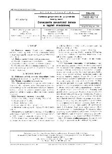 Roztwory galwaniczne do wklęsłodruku - Metody badań - Oznaczanie zawartości żelaza w kąpieli miedziowej BN-86/7469-42/14