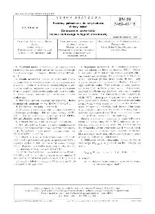 Roztwory galwaniczne do wklęsłodruku - Metody badań - Oznaczanie zawartości kwasu siarkowego w kąpieli chromowej BN-86/7469-42/16