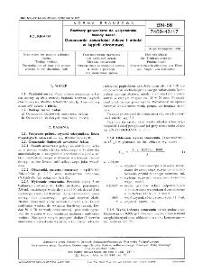 Roztwory galwaniczne do wklęsłodruku - Metody badań - Oznaczanie zawartości żelaza i miedzi w kąpieli chromowej BN-86/7469-42/17