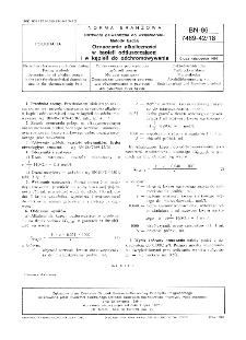 Roztwory galwaniczne do wklęsłodruku - Metody badań - Oznaczanie alkaliczności w kąpieli odtłuszczającej i w kąpieli do odchromowywania BN-86/7469-42/18